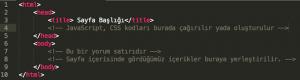 seo uyumlu html kodlama yapısı