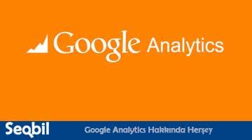 Google Analytics Hakkında Herşey