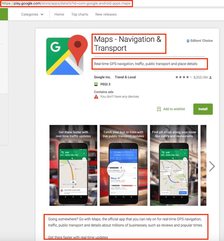 Android için Mobil Sıralama