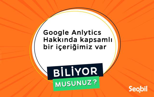 google analytics kapsamlı rehberi